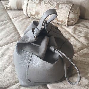 ZARA - Grey Large Bucket Bag